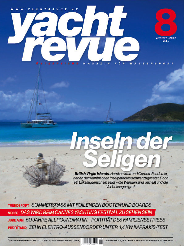 Yachtrevue Magazincover